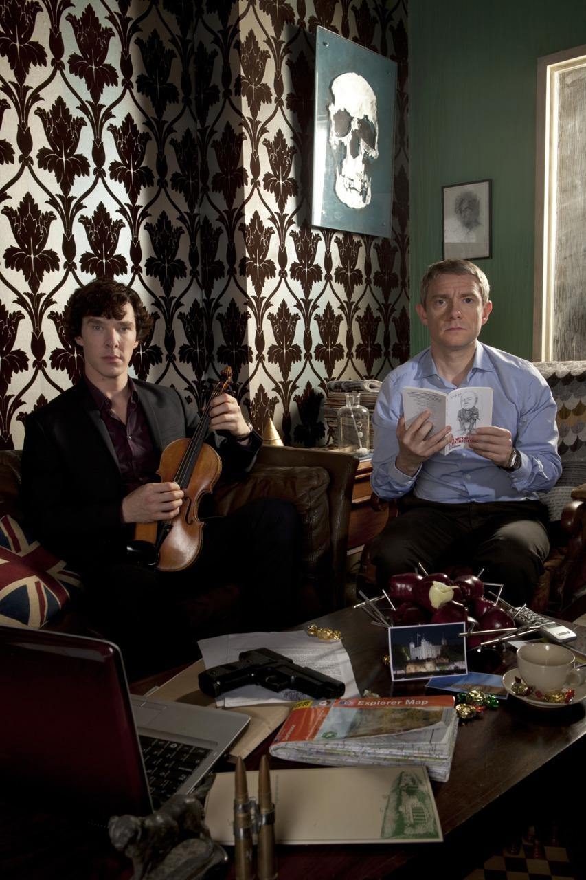 Jak mieszka Sherlock Holmes w kultowym serialu