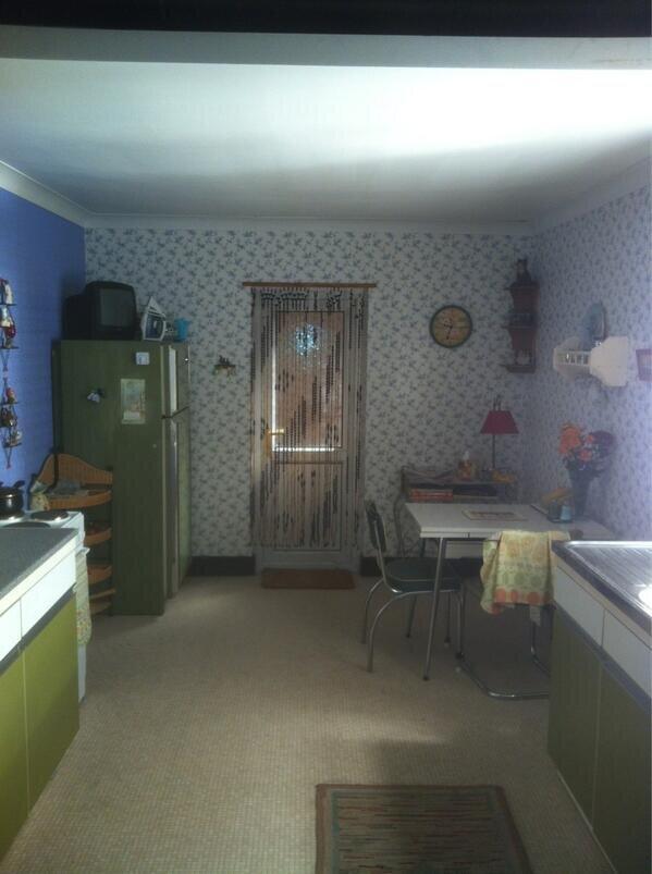 Jak mieszka Sherlock Holmes kuchnia pani Hudson