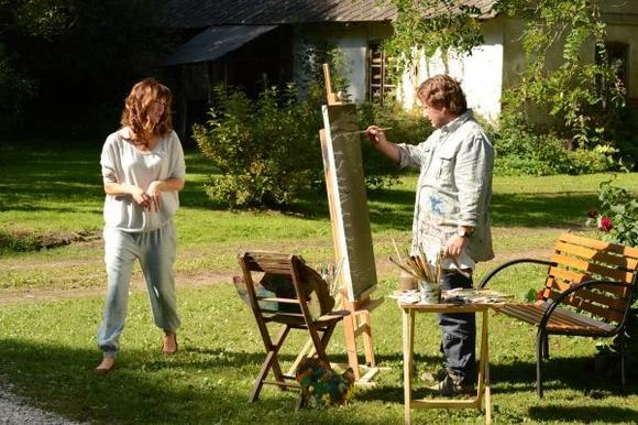 Kto maluje obrazy Kusego? Ostatnia tajemnica Rancza wyjaśniona