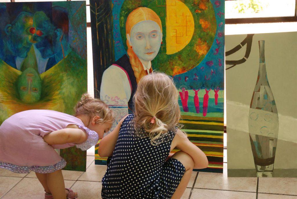 Wystawa malarstwa w plenerze i wernisaż wystawy obrazów nowoczesnych