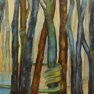 duży obraz do salonu ręcznie malowany