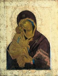 Ikona Matka Boża Włodzimierska Andrej Rublow