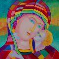 Madonna z Dzieciątkiem obraz