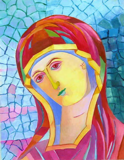Obrazy religijne - ikona Matki Bożej