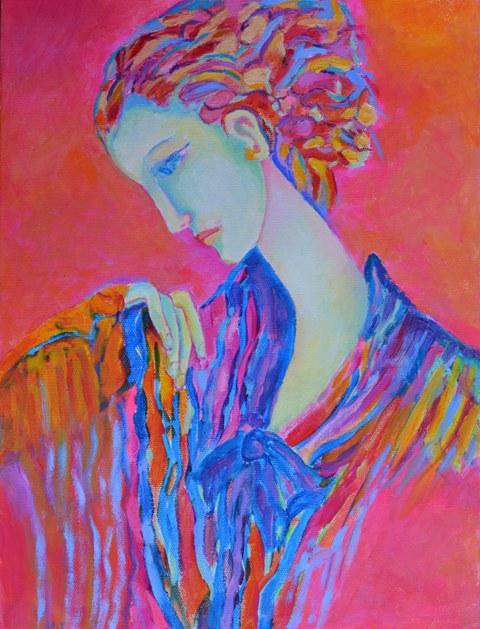 Magdalena_Walulik_portret_kobiety_obraz olejny_wymiary 30 x 40 cm_malarstwo polskie