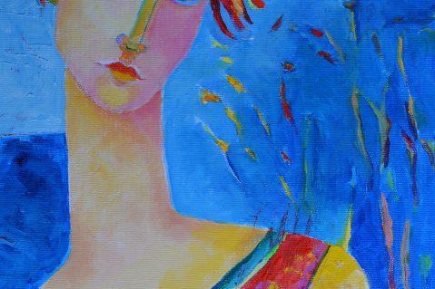 Obrazy kobiety na sprzedaż, portrety, nowoczesne obrazy olejne