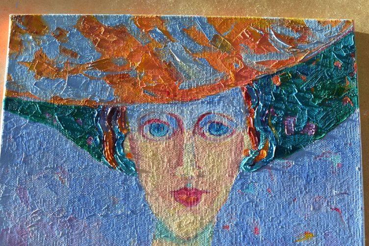 Amedeo Modigliani obraz kobieta w kapeluszu Magdalena Walulik4