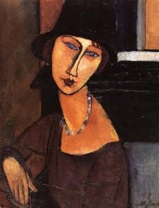 Jeanne obraz olejny Amedeo Modigliani