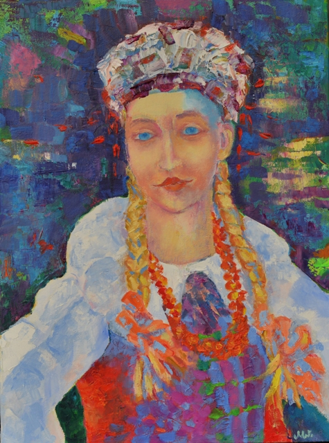 obraz olejny ze zdjęcia Magdalena Walulik