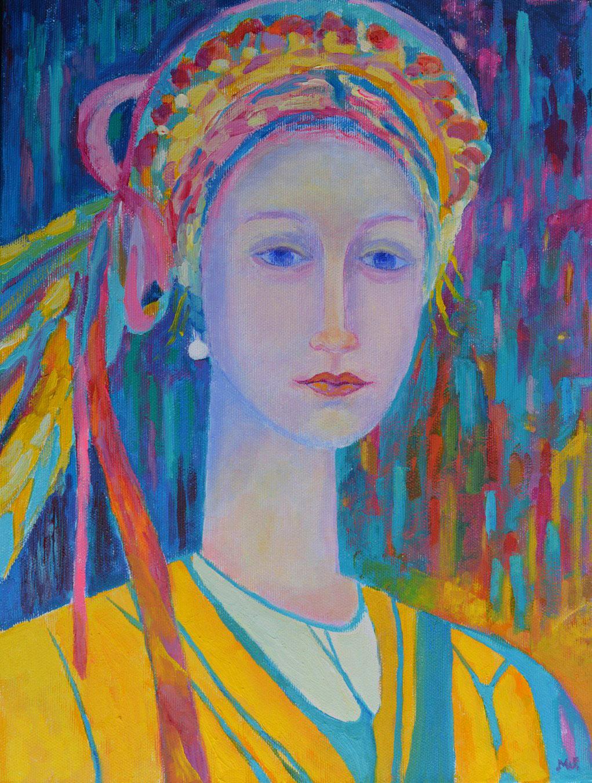 obraz na zamówienie z dedykacją Panna Dziewanna Magdalena Walulik