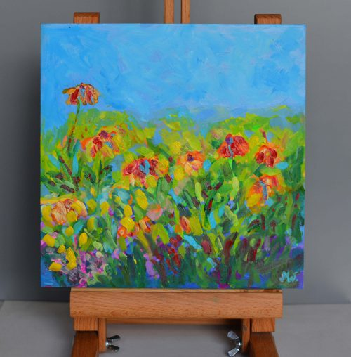 kwiaty malarstwo impresjonizm