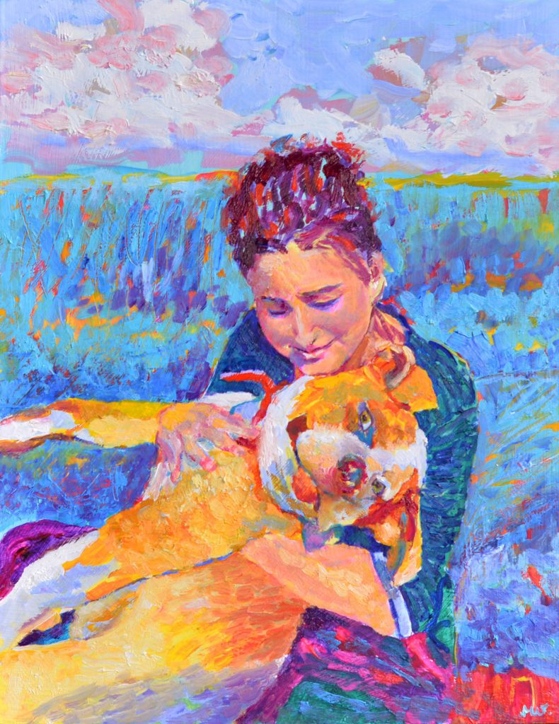 portret-psa-ze-zdjecia-malarstwo