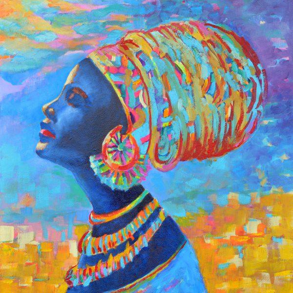 Afrykanka obraz na ścianę