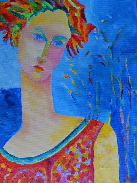 obraz olejny Lady Afrodyta