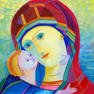 obraz-madonna-z-dzieciatkiem-obrazy