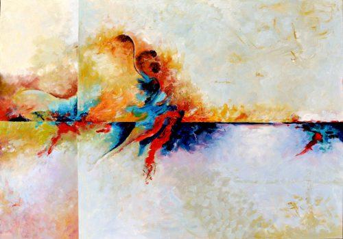Obraz abstrakcyjny kolorowy