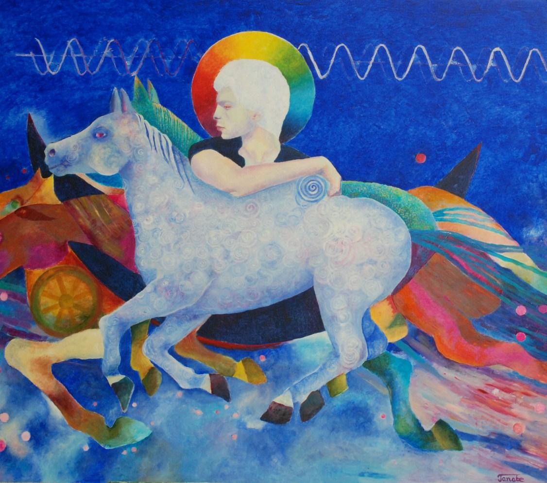Malarstwo olejne konie