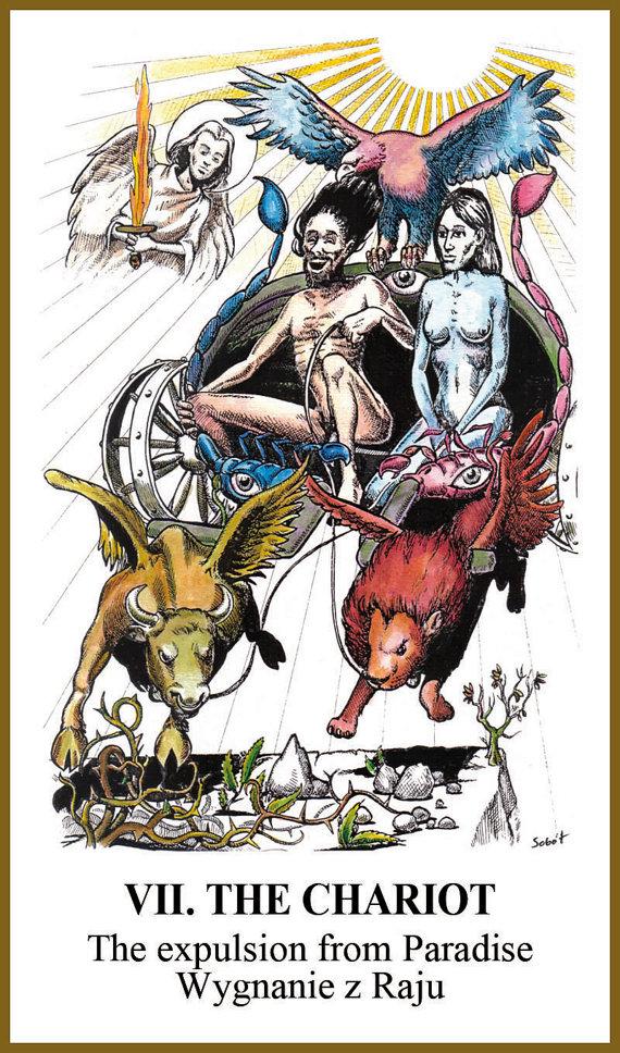 Karty tarota Tarot Apokalipsy talia 78 kart