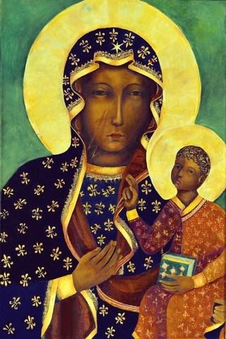 Replika obrazu Matki Boskiej Częstochowskiej