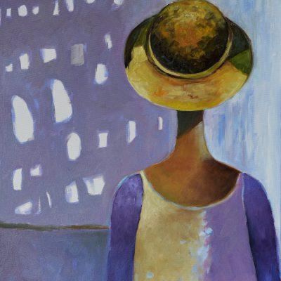 Obrazy nowoczesne Postacie Portret abstrakcyjny olej na płótnie