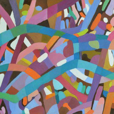 Obraz na płótnie kolorowa abstrakcja