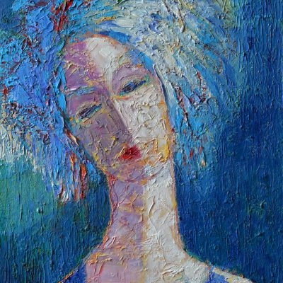Obraz twarze abstrakcja Obrazy twarzy 30 x 40