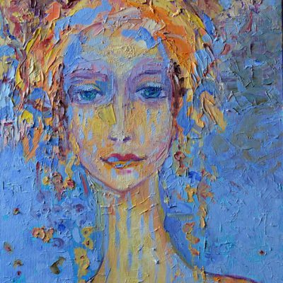 Obrazy na ścianę twarze Obraz z kobietą