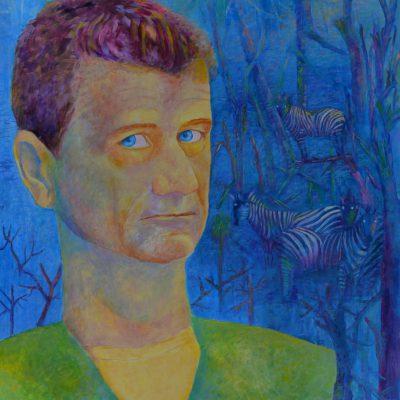 Portrety polityków Janusz Palikot portret olejny 70 x 80