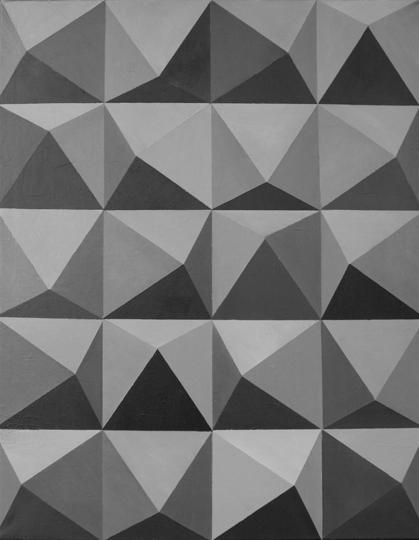 Szary obraz akrylowy abstrakt do dekoracji ściany