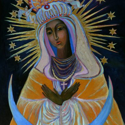 Matka Boża Miłosierna Ostrobramska Czarna Madonna obraz