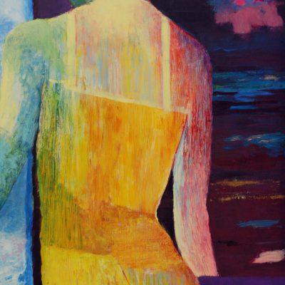 obraz kobieta obraz akrylowy na płótnie