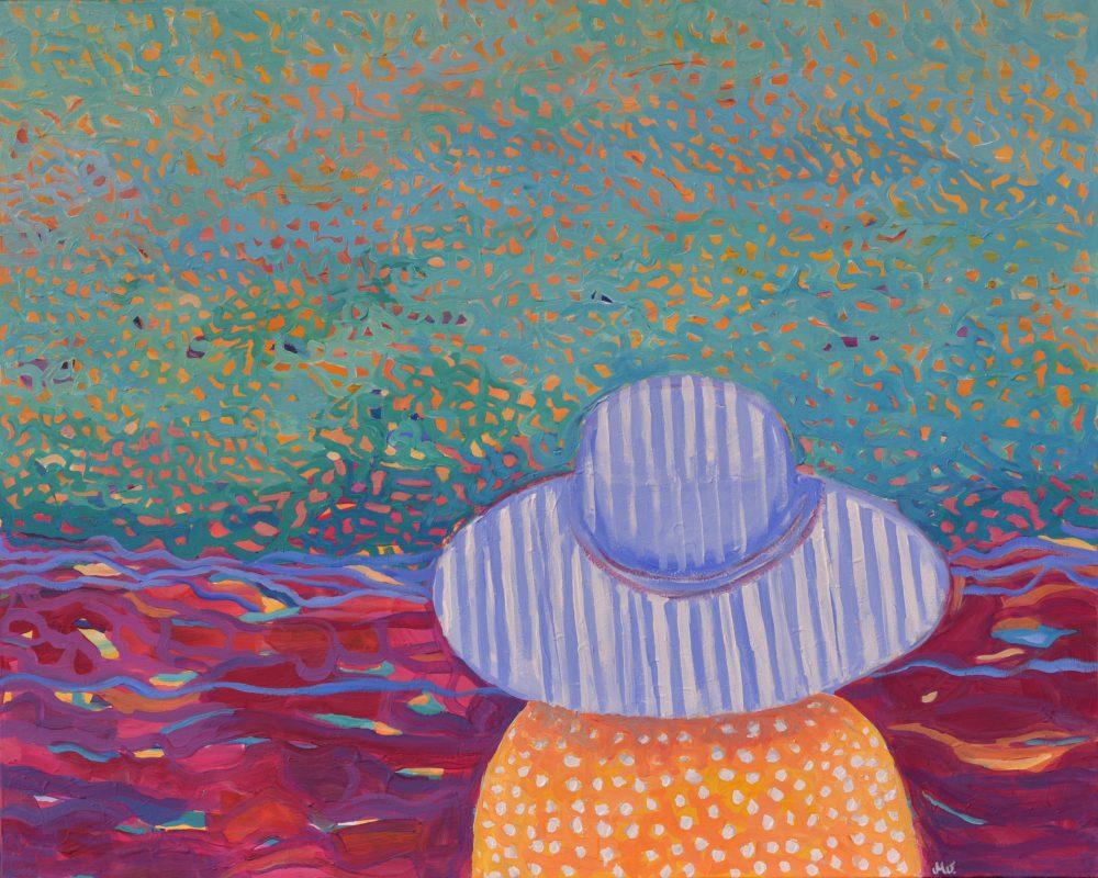Obrazy nowoczesne pejzaże Pejzaż Nad morzem
