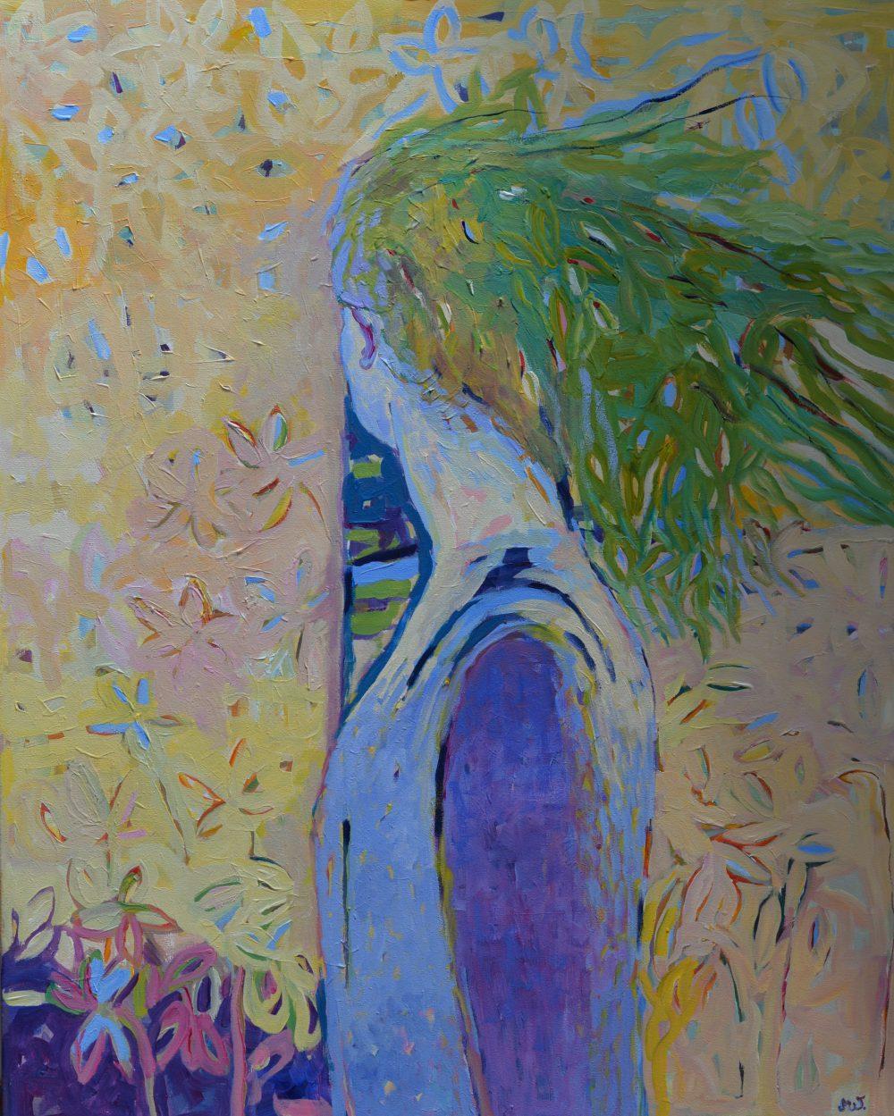 Obraz akryl na płótnie Postać kobiety