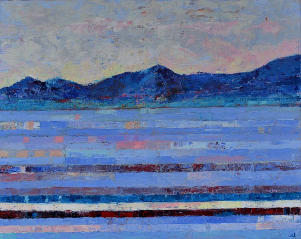 Obraz góry abstrakcja