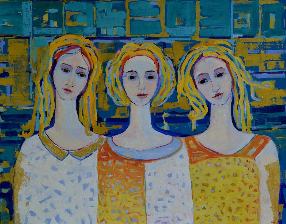 anioły obrazy nowoczesne na ścianę