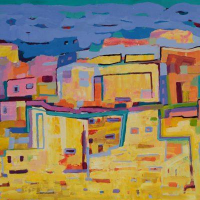 Pejzaż obraz oryginał Krajobraz orientalny Maroko