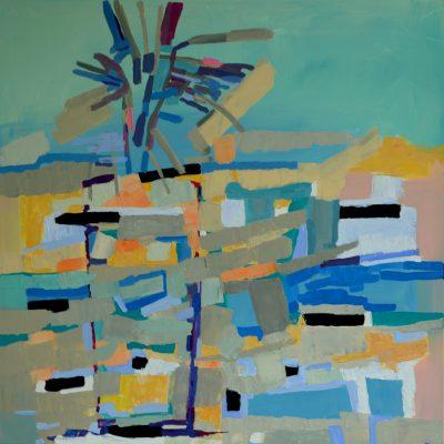 Obraz pastelowy kwiaty abstrakcja na ścianę